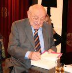 Marcel Reich-Ranicki bei der TV-Sendung Literatur im Foyer im Mainzer SWR-Funkhaus