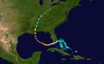 "Weg des Hurrikans ""Katrina"" August 2005 [Bildquelle 3]"