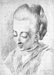 Cornelia Schlosser, geb. Goethe, Schwester von Johann Wolfgang von Goethe. Bildinfos [2]