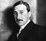 Stefan Zweig  (1882 - 1942, Aufnahme ca. 1912) Bildquelle [1]