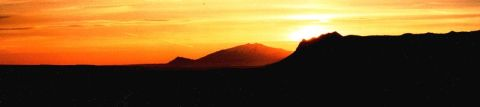 Sonnenuntergang am  Snæfellsnes Vulkan Quelle [1]