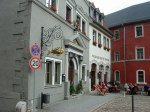 Weimar: heute ein schmuckes Städtchen. Hier am Herderplatz mit dem ehemaligen Deutschritterhaus.