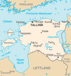 Übersichtskarte Estland Bildquelle: [B]