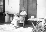 Thomas Mann in Sanary-sur-Mer 1933 Bildquelle [B]