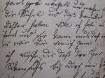 Handschrift von Christiane Vulpius, 1797 Bildquelle [B]