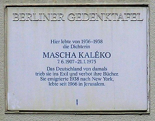 Mascha Kaléko Liebst Du Mich Eigentlich Ausgelesen