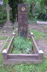 Die Grabstelle von Pat Kavanagh in Highgate Cemetery (Aufnahmedatum: 8.5.15) Bildquelle: [B]