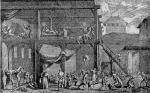 Pest-Lazarett in Wien um 1679 zeitgenössischer Stich Bildquelle [B]